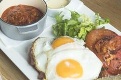 Angielskiego śniadania ranku czas zdjęcia royalty free