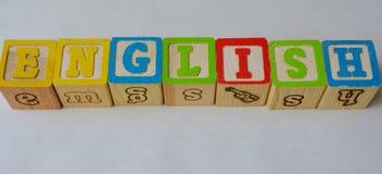 Angielszczyzny (ESL) Obrazy Stock