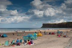 Angielszczyzny plaża Obraz Royalty Free