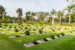 Angielszczyzny pole honor Menteng Pulo w Dżakarta, Jawa wyspa, Wewnątrz Obrazy Royalty Free