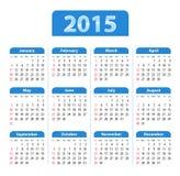Angielszczyzny Porządkują 2015 błękit royalty ilustracja