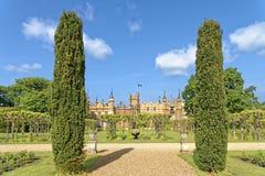 Angielszczyzny uprawiają ogródek, knebworth, England zdjęcia royalty free