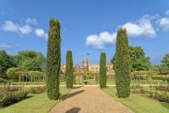 Angielszczyzny uprawiają ogródek, knebworth, England Zdjęcie Stock