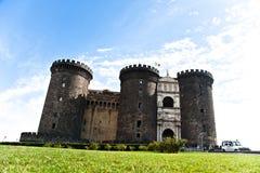 angioino城堡maschio napoli 免版税库存照片
