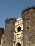 Angioino del castillo Foto de archivo libre de regalías
