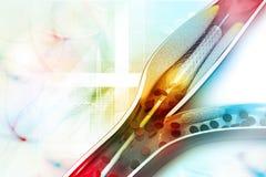 Angioplastie de Stent Photo stock