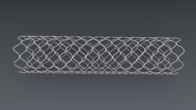 Angioplasty Stent Royalty Free Stock Photos