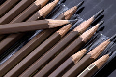 angiven blyertspenna Royaltyfria Bilder