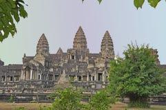 Angkar Wat Στοκ φωτογραφία με δικαίωμα ελεύθερης χρήσης