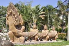 Angkar Wat naga Royalty Free Stock Photo