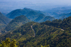 Angkhang mountain,Chiangmai Thailand. Road to Angkhang mountain,Chiangmai Thailand Royalty Free Stock Photography