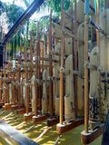 Angklung - μουσικό όργανο της Ινδονησίας Στοκ φωτογραφίες με δικαίωμα ελεύθερης χρήσης