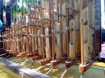 Angklung - μουσικό όργανο της Ινδονησίας Στοκ φωτογραφία με δικαίωμα ελεύθερης χρήσης