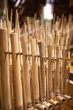 Angklung, instrument de musique traditionnel d'Indonésie Image libre de droits