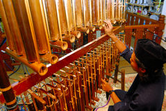 Angklung musical insrtument Royalty Free Stock Image