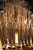 Angklung, traditional music instrument from Indonesia Stock Image