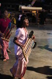 Angklung Ujo Pack music school in Bandung Stock Images