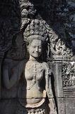 Angkok Wat kvinnligt stendiagram Royaltyfri Bild