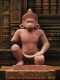 angkor在srei寺庙wat附近的banteay柬埔寨 库存照片