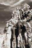 angkor大象门朝向thom 库存图片