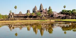 angkor寺庙wat 免版税库存照片