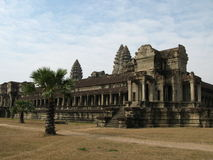 angkor寺庙wat 免版税图库摄影