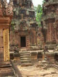 angkor寺庙wat 图库摄影