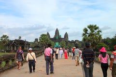 angkor旅行wat 库存图片