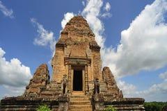 angkor柬埔寨东部mebon寺庙 免版税库存图片