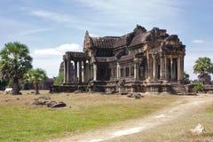 angkor柬埔寨图书馆wat 库存图片