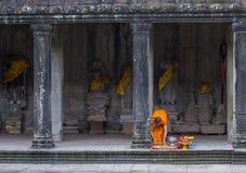 angkor柬埔寨寺庙wat 库存照片