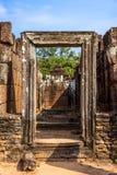 angkor柬埔寨收割废墟siem寺庙wat 库存照片