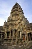 angkor柬埔寨收割siem wat 库存照片