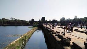 angkor柬埔寨收割siem wat 库存图片