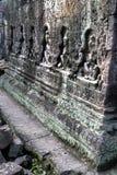 angkor柬埔寨高棉破坏wat 免版税库存图片