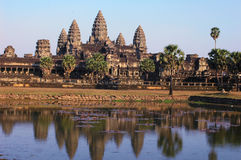 angkor柬埔寨 图库摄影