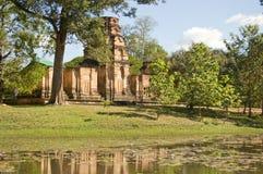 angkor柬埔寨kravan prasat寺庙 免版税库存图片