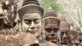 angkor柬埔寨thom 免版税图库摄影