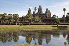 angkor柬埔寨wat 免版税库存图片