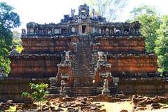 angkor皇家宫殿的phimeanakas 免版税库存图片