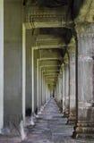 angkor走廊wat 免版税库存图片