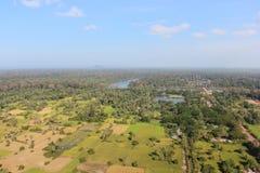 Angkor από το μπαλόνι Στοκ Φωτογραφίες
