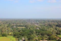 Angkor από το μπαλόνι Στοκ φωτογραφίες με δικαίωμα ελεύθερης χρήσης