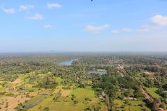 Angkor από το μπαλόνι Στοκ Εικόνα
