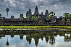 angkor Ασία Καμπότζη μέσα στο wat Στοκ εικόνα με δικαίωμα ελεύθερης χρήσης