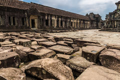 angkor Ασία Καμπότζη μέσα στο wat Στοκ Εικόνες