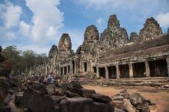Angkor ειδώλων ζουγκλών wat Στοκ φωτογραφίες με δικαίωμα ελεύθερης χρήσης