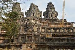 Angkor κάτω από την επισκευή Στοκ Φωτογραφίες