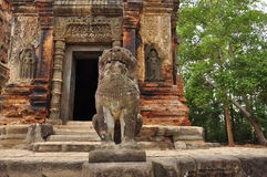 angkor Καμπότζη Ναοί ομάδας Roulos Στοκ Φωτογραφία