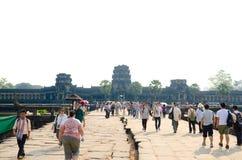 Angkor Wat, Καμπότζη Στοκ Φωτογραφίες